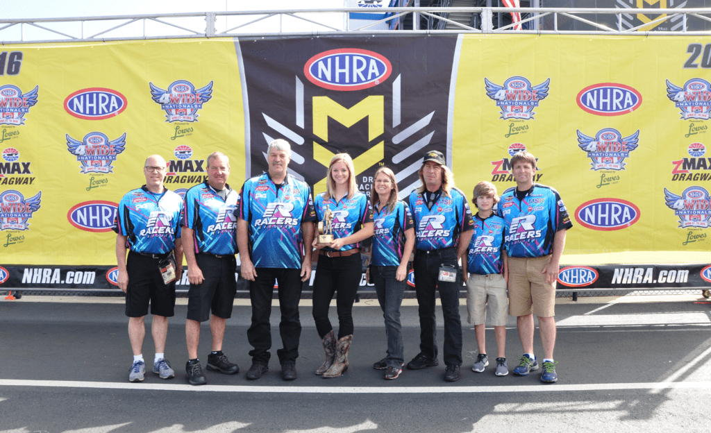 RMR Earns Best Appearing Crew Award at NHRA 4-Wide Nationals