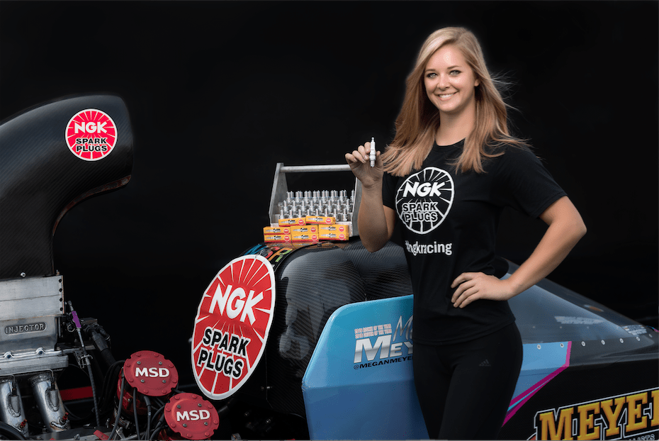 NGK Partners with Megan Meyer Racing As Title Sponsor for 2018 and 2019