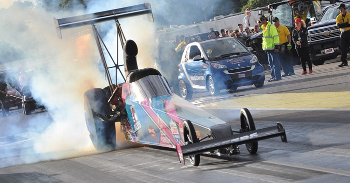 Megan Meyer Becomes Quickest Female in NHRA Top Alcohol Dragster at Lucas Oil Nationals