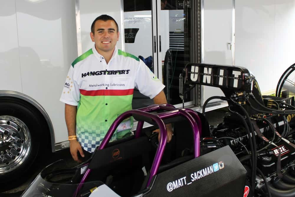 Matt Sackman Set to Make Top Alcohol Dragster Debut at Burndown at Sundown