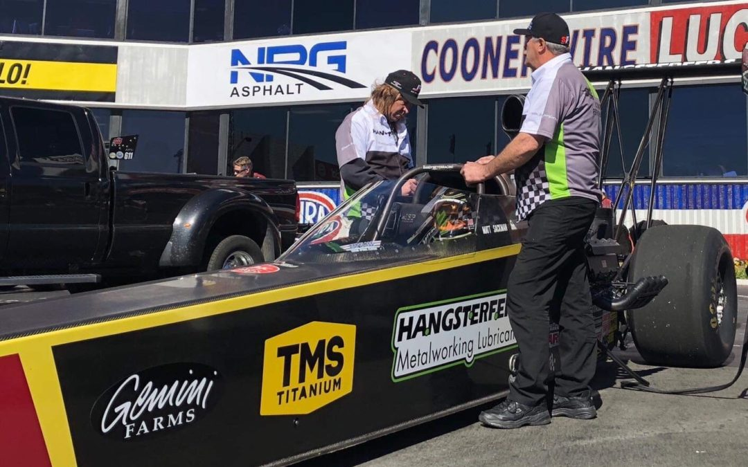 Matt Sackman Reaches Final Round at NHRA Winternationals